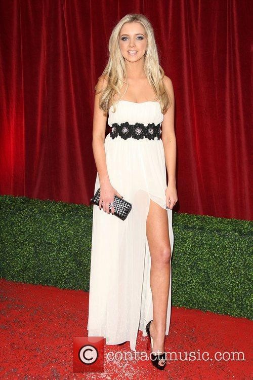 Alice Barlow The British Soap Awards 2012 held...