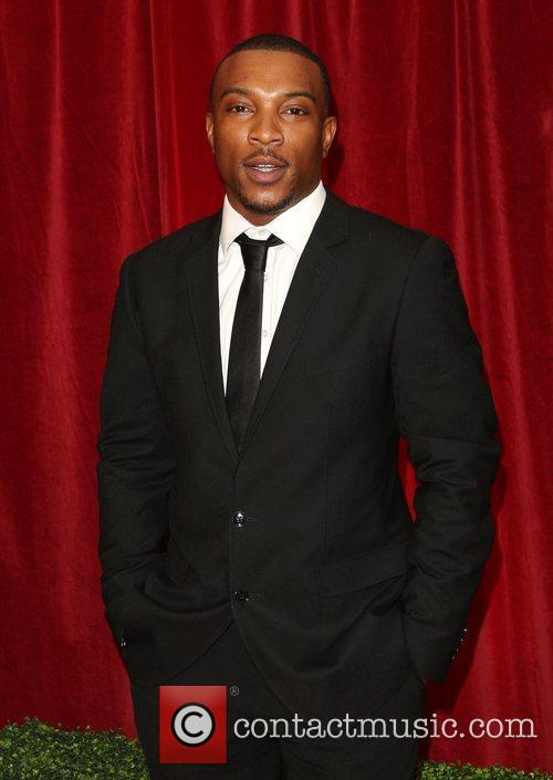 Ashley Walters The British Soap Awards 2012 held...