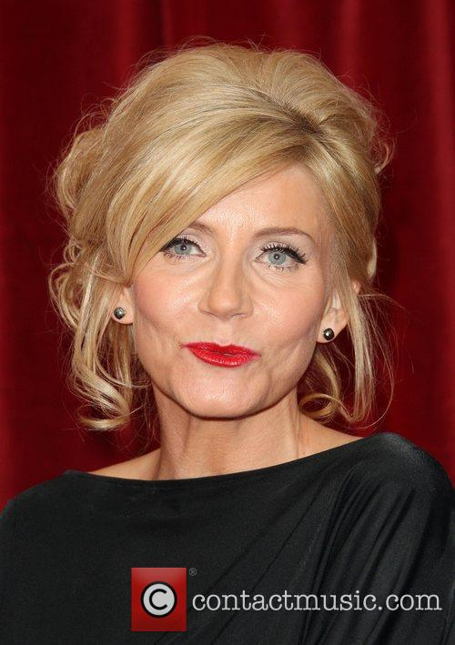 Michelle Collins The British Soap Awards 2012 held...