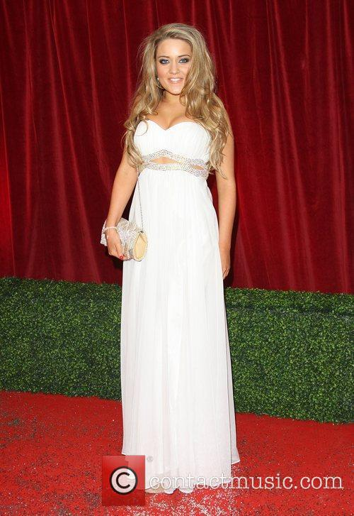 Abi Phillips The British Soap Awards 2012 held...