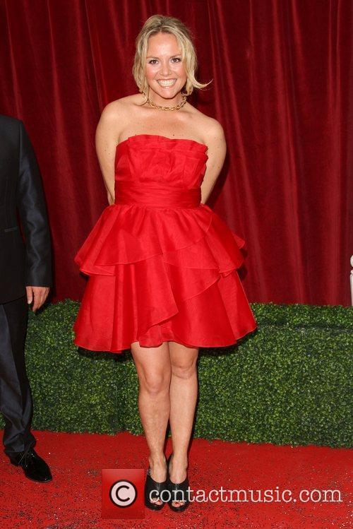 Charlie Brooks The British Soap Awards 2012 held...