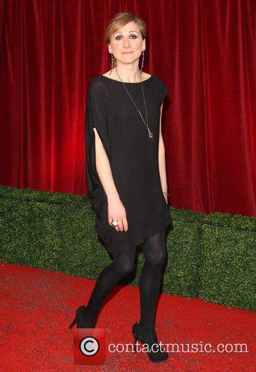Charlotte Bellamy The British Soap Awards 2012 held...