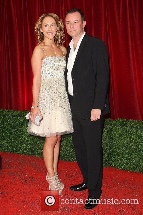 Andrew Lancel and guest The British Soap Awards...