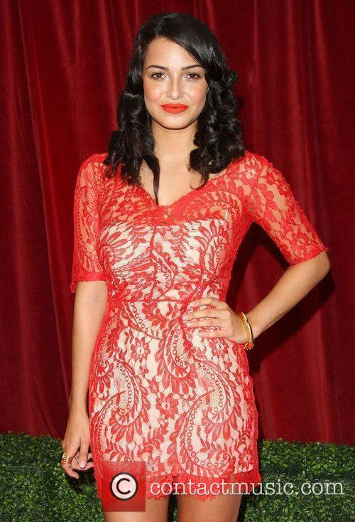 Anna Shaffi The British Soap Awards 2012 held...