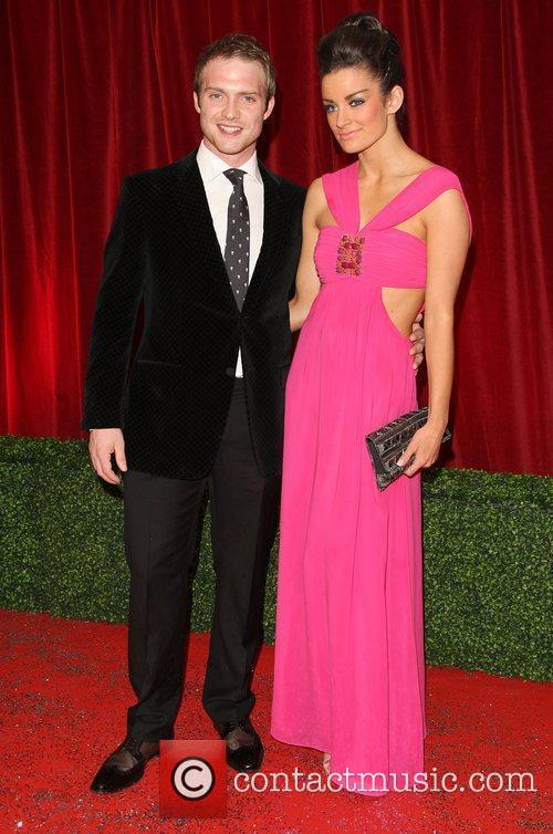Chris Fountain and girlfriend The British Soap Awards...
