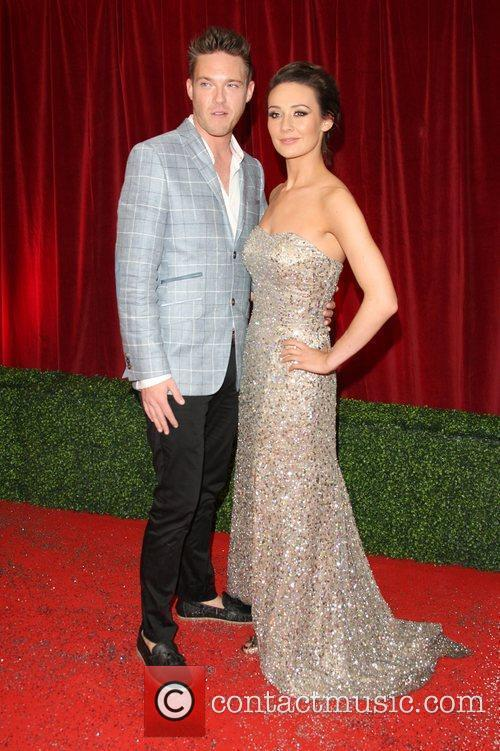 Claire Cooper and guest The British Soap Awards...