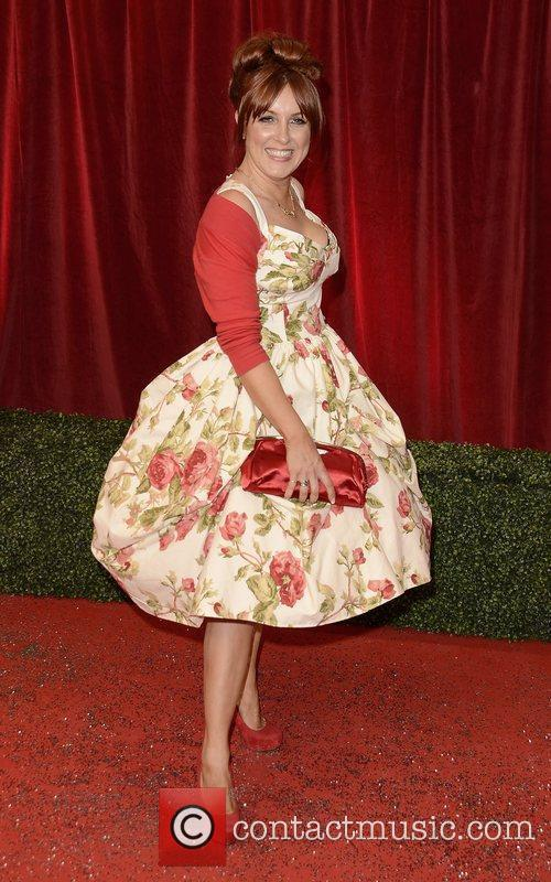 A guest  The British Soap Awards 2012...