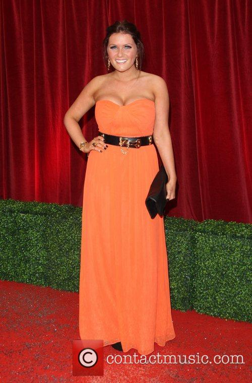 Chelsea Halfpenny The British Soap Awards 2012 held...
