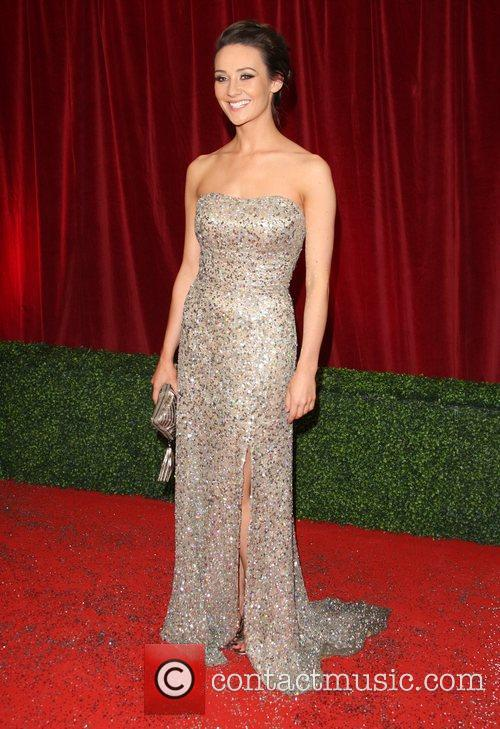 Claire Cooper The British Soap Awards 2012 held...