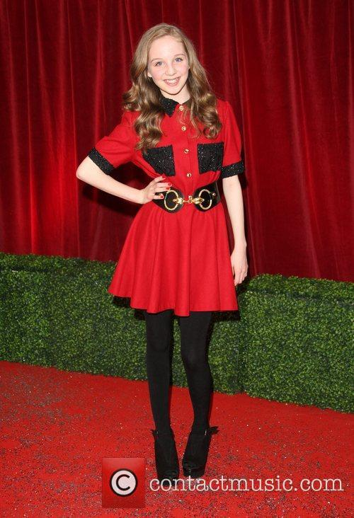 Eden Taylor_Draper The British Soap Awards 2012 held...