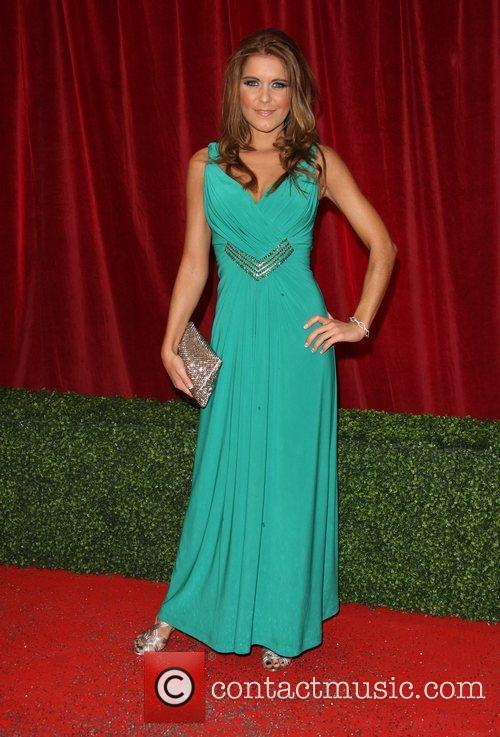 Gemma Ouaten The British Soap Awards 2012 held...