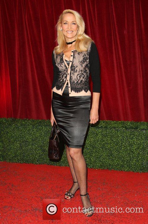 Jerry Hall The British Soap Awards 2012 held...