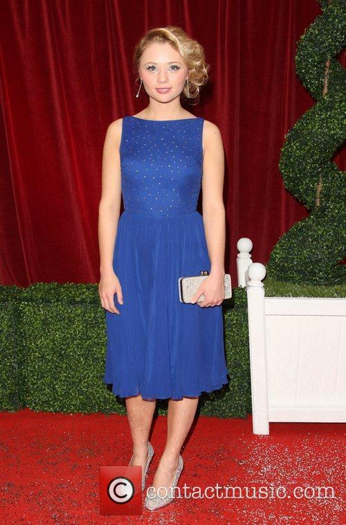 Jessica Forrest The British Soap Awards 2012 held...