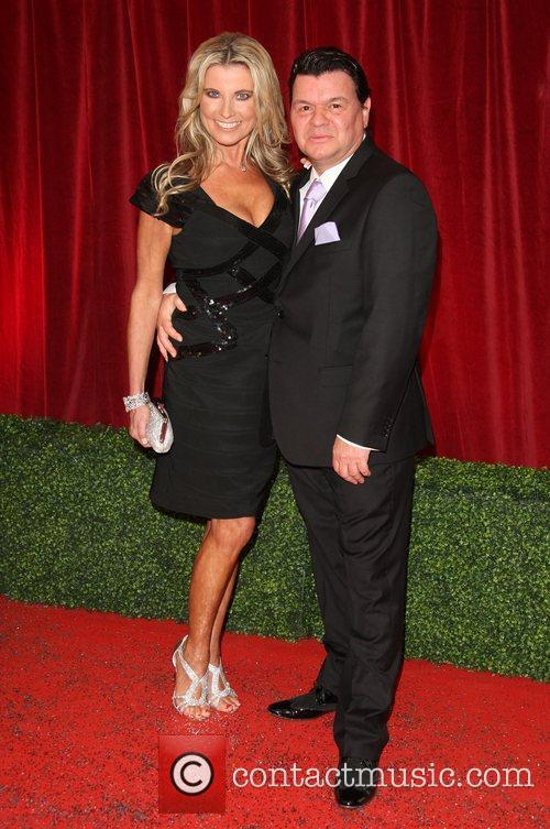 Jamie Foreman and guest The British Soap Awards...