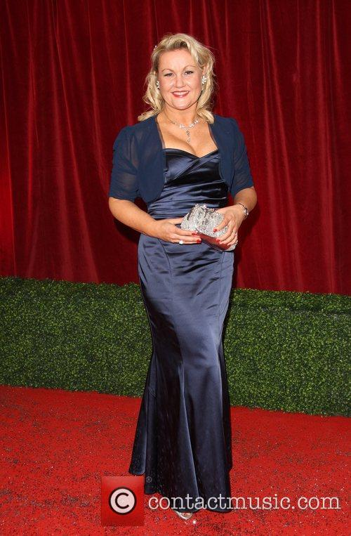 Lisa George The British Soap Awards 2012 held...