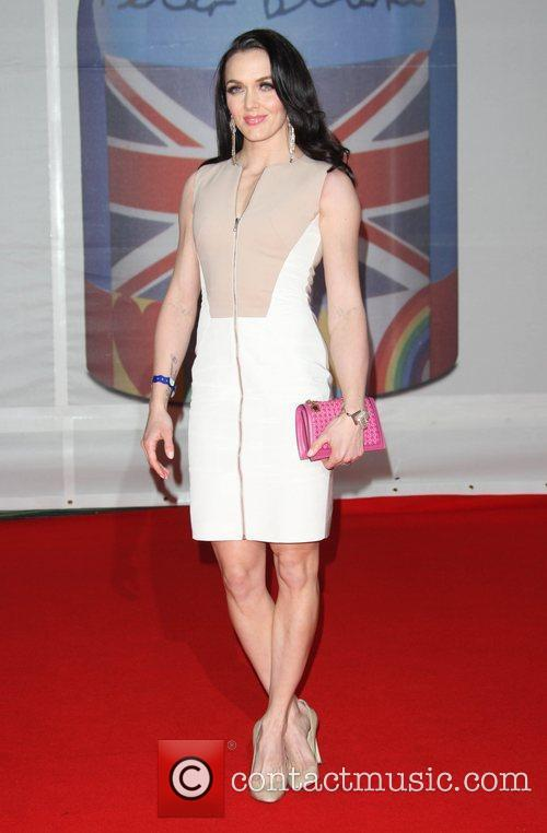 Victoria Pendleton and Brit Awards 3