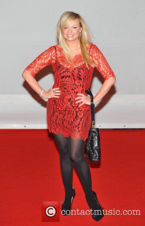 Emma Bunton 2012 Brit Awards held at the...