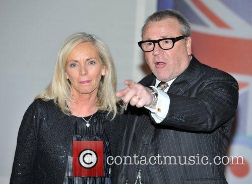 Ray Winstone and Brit Awards 3