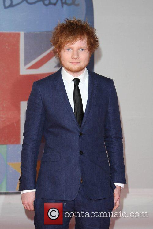 Ed Sheeran and Brit Awards 4