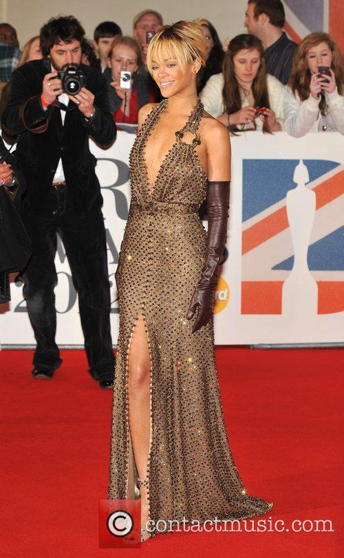 Rihanna and Brit Awards 8