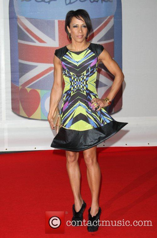 Dame Kelly Holmes The BRIT Awards 2012 held...