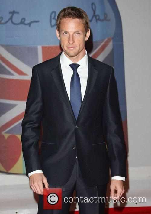 Jenson Button and Brit Awards 1
