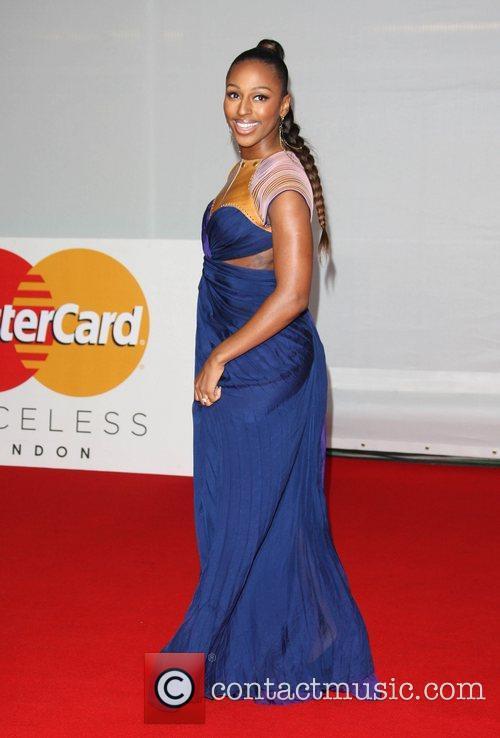 Alexandra Burke and Brit Awards 8