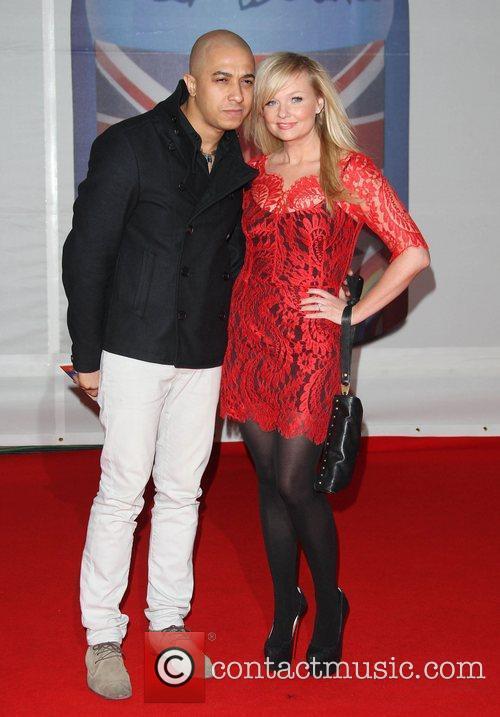 Emma Bunton and Jade Jones The Brit Awards...