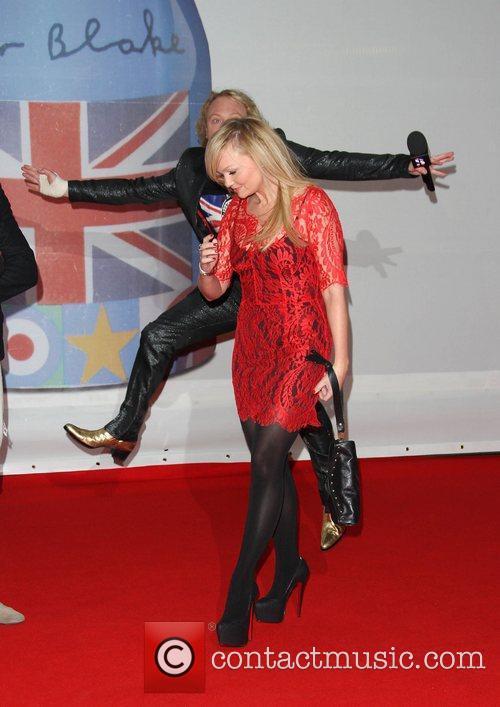 Emma Bunton and Keith Lemon The Brit Awards...