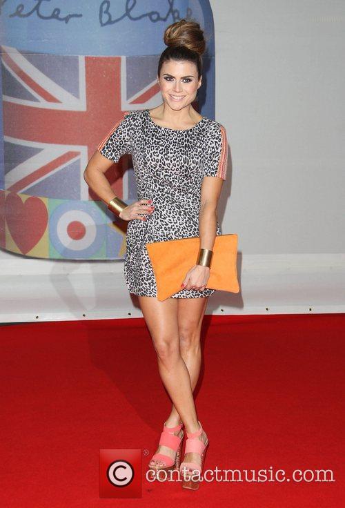 Zoe Hardman The Brit Awards 2012 held at...