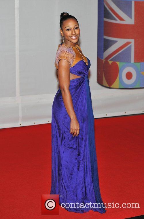 Alexandra Burke and Brit Awards 4