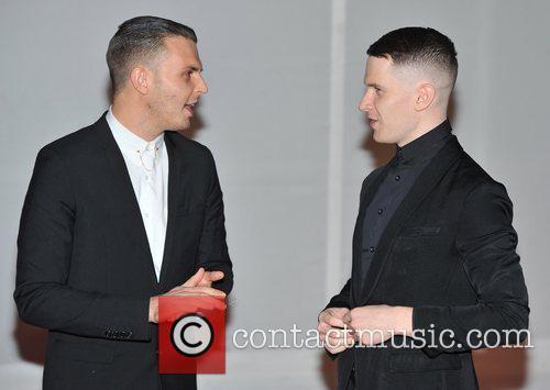 Guests The BRIT Awards 2012 at the O2...