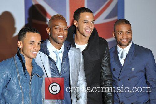 JLS The BRIT Awards 2012 at the O2...