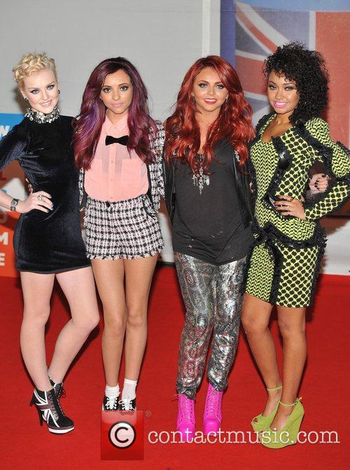 Little Mix The BRIT Awards 2012 at the...