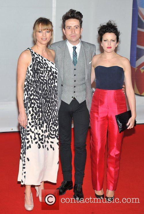Sarah Cox, Nick Grimshaw and Brit Awards 1