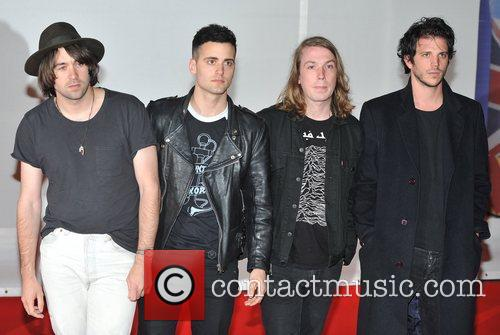 The Vaccines The BRIT Awards 2012 at the...