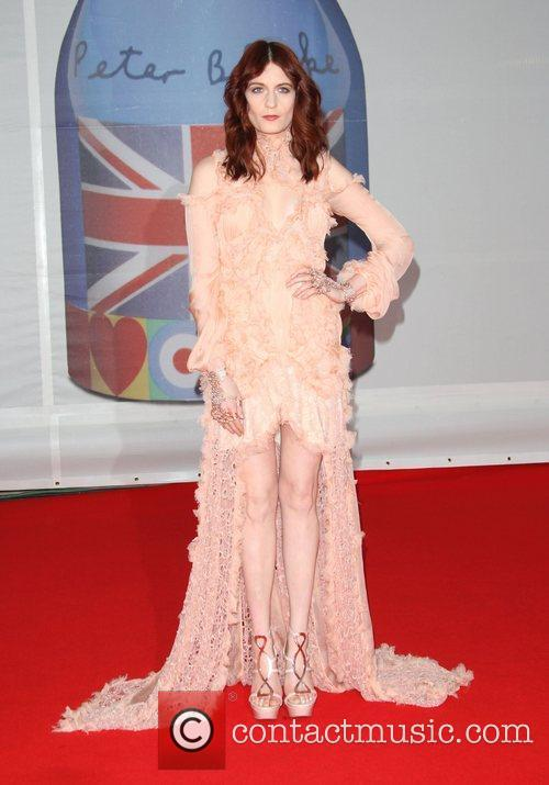 Florence Welch, Florence And The Machine and Brit Awards 7
