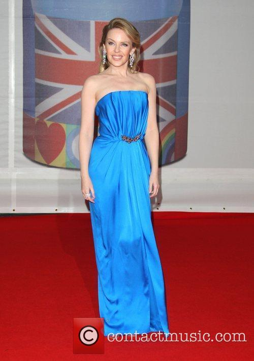 Kylie Minogue and Brit Awards 1