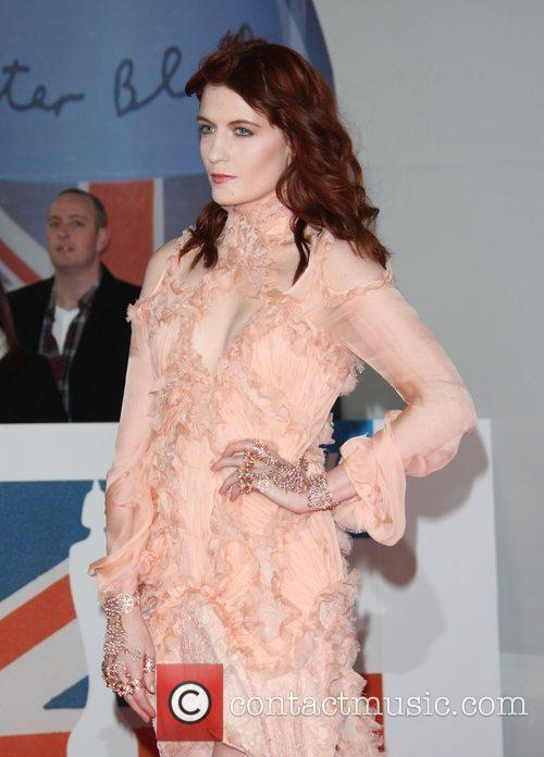 Florence Welch, Florence And The Machine and Brit Awards 8