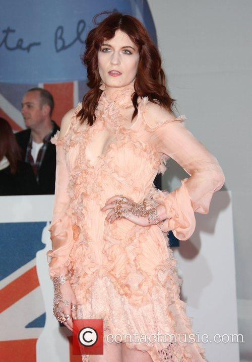Florence Welch, Florence And The Machine and Brit Awards 9