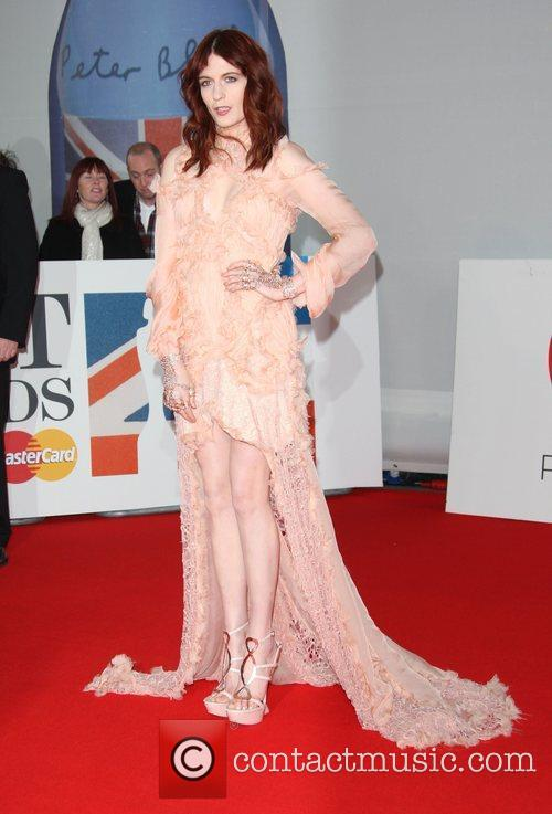 Florence Welch, Florence And The Machine and Brit Awards 11