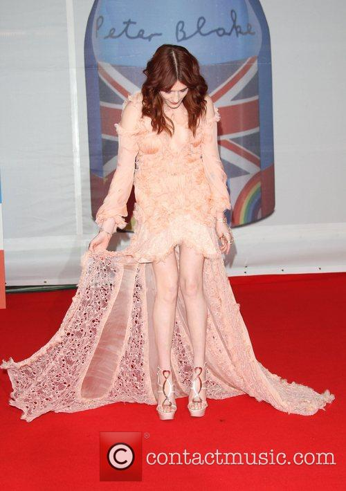 Florence Welch, Florence And The Machine and Brit Awards 1