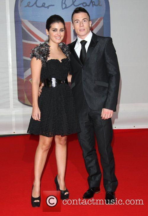 Katie Melua and fiance James Toseland The Brit...