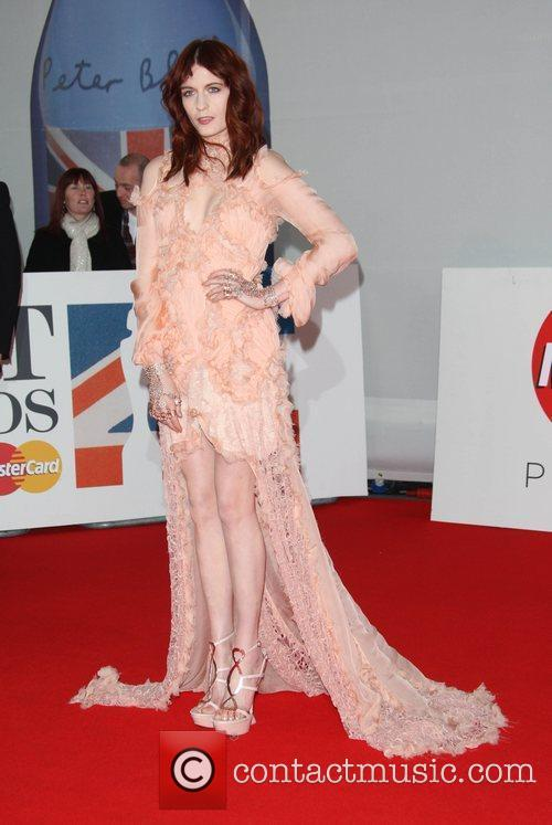 Florence Welch, Florence And The Machine and Brit Awards 3