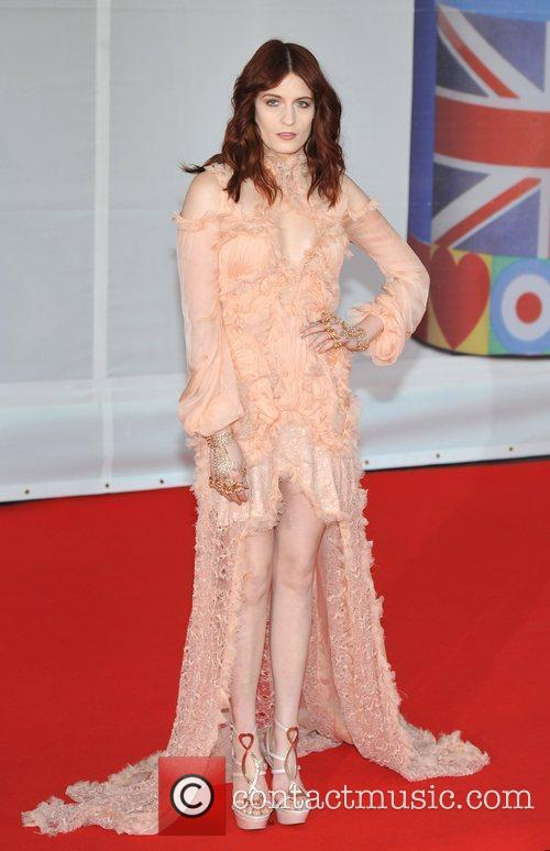 Florence Welch and Brit Awards 4