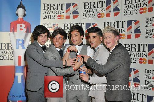 One Direction and Brit Awards 5