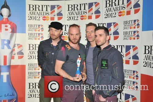Coldplay and Brit Awards 3