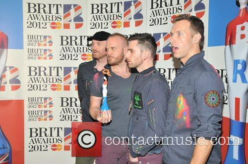 Coldplay and Brit Awards 5