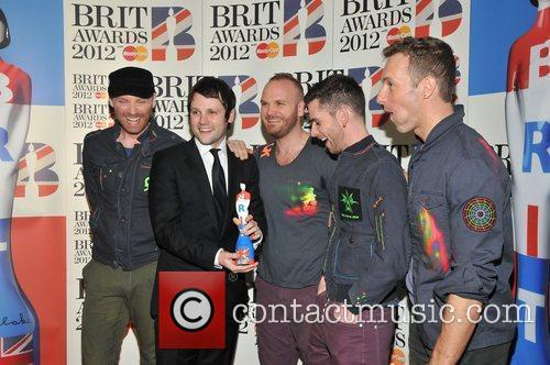 Coldplay and Brit Awards