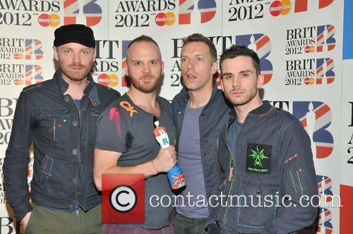 Coldplay and Brit Awards 6